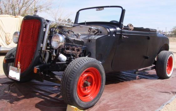 1934 Ford Hot Rat Rod Roadster