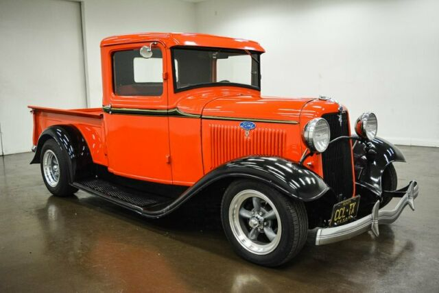 1934 Ford Pickup  1633 Miles RED Pickup Truck 350 Chevrolet V8 Turbo 350 Automat
