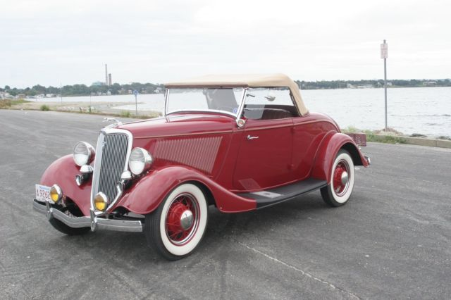1934 Ford V8 Roadster Convertible for sale: photos