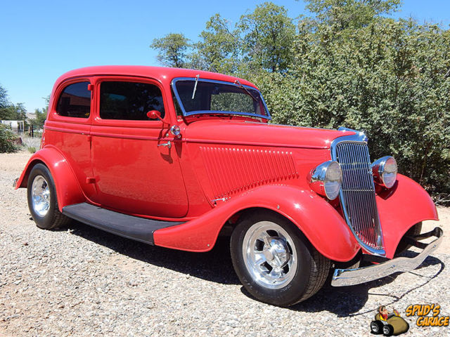 1934 Ford Other Victoria 2DR Sedan Henry Resto Rod