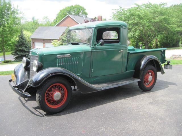1934 International Harvester C-1 Pickup-Low Miles-Great