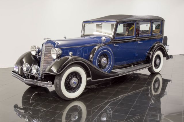 1934 Lincoln KB 7-Passenger Willoughby Limousine