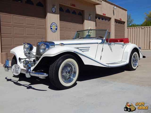 1934 Mercedes-Benz 500K Marlene Replica Convertible Roadster