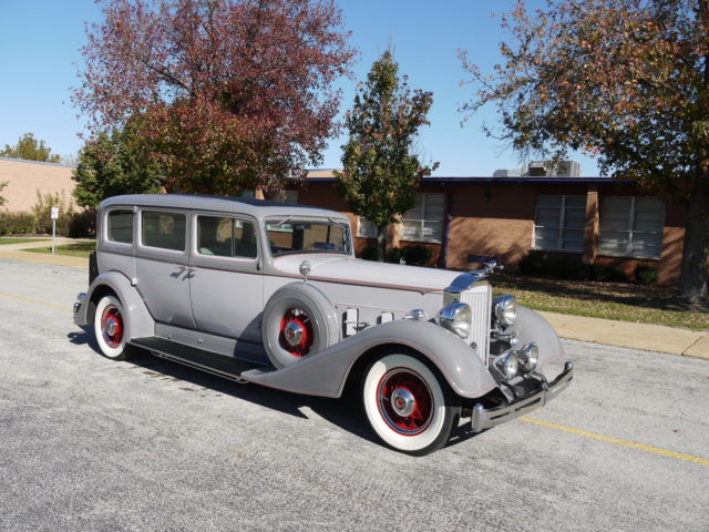Packard Super Eight Passenger Sedan For Sale Photos