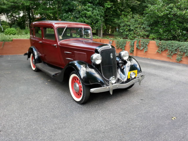 1934 plymouth 4 door sedan for sale photos technical for 1934 plymouth 2 door sedan