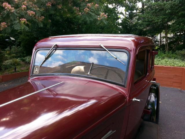 1934 Plymouth 4 door sedan for sale: photos, technical