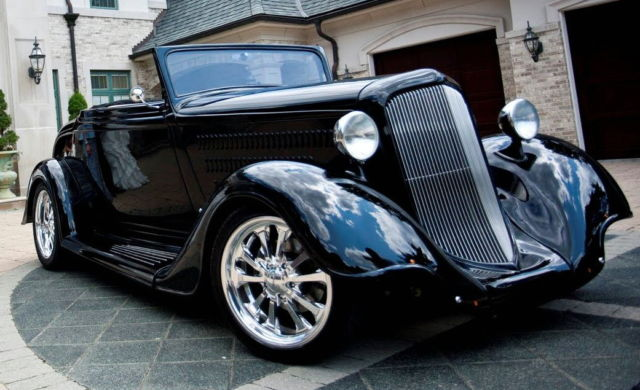 1934 Plymouth Cabaret Roadster Convertible Coupe 340 Sixpack