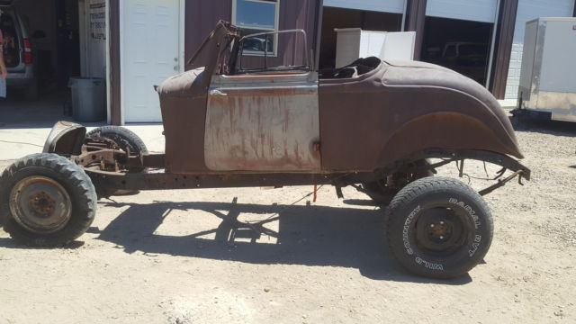 1934 Plymouth PE Coupe 1933 34 33 Dodge Mopar Rat Rod 1932 ...