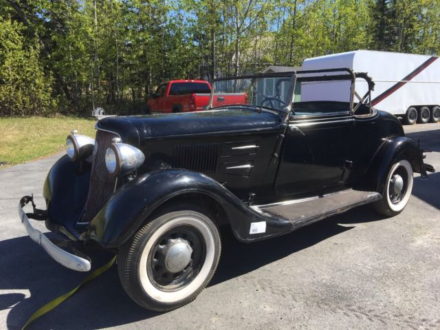 1934 Plymouth PE Deluxe Convertible Coupe for sale: photos
