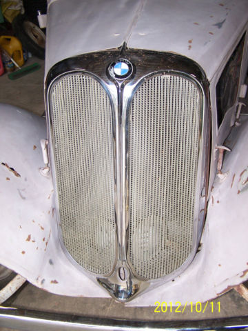 1935 BMW 319 Sport Cabriolet RARE Sports Car Restoration Project for ...
