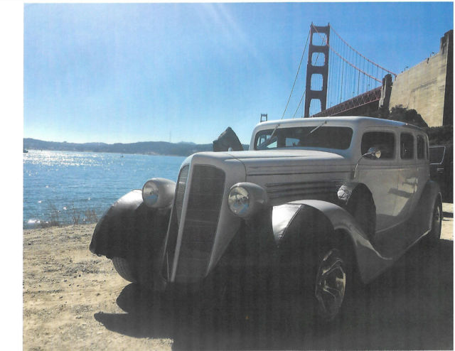 1935 Other Makes Limousine White