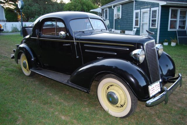 1935 Chevrolet Master 3 window coupe suicide doors for sale