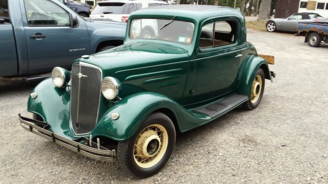 1935 chevrolet master standard 3 window coupe for sale for 1935 3 window coupe