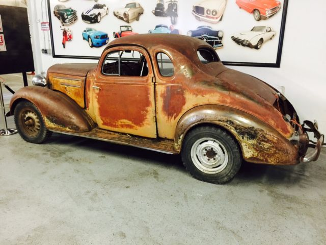 1935 chevrolet rat rod coupe rare barn find with suicide doors mostly all there for sale photos. Black Bedroom Furniture Sets. Home Design Ideas