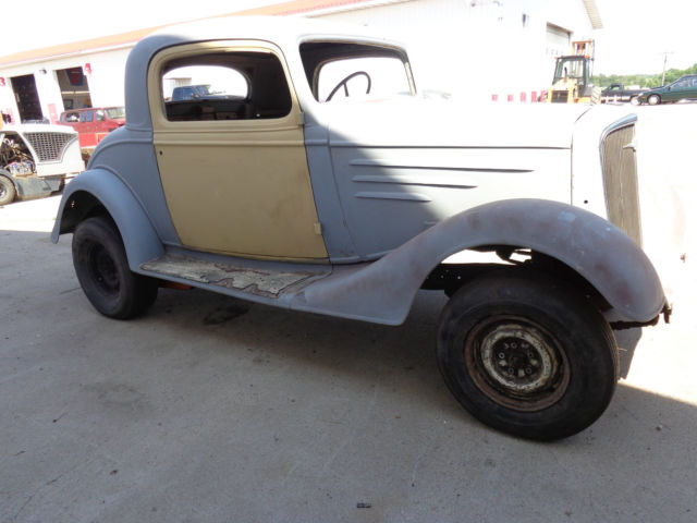 1935 chevrolet standard three window coupe project for for 1935 chevy 5 window coupe