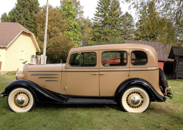 1935 chevrolet standard with original style mohair interior and great paint comb for sale. Black Bedroom Furniture Sets. Home Design Ideas
