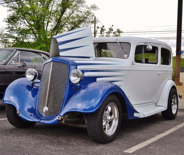 1935 Chevy 2 Door Sedan Hot Rod Street Rod For Sale