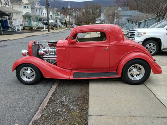 1935 Chevrolet Other 3 window cpe