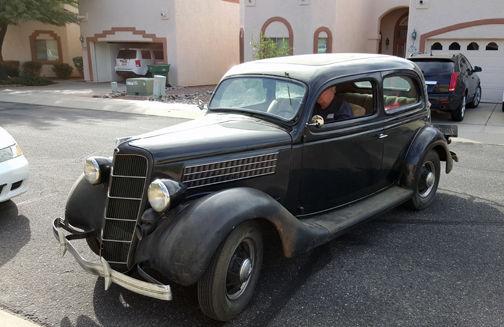 Ford Door Sedan Slantback Standard Model For Sale Photos