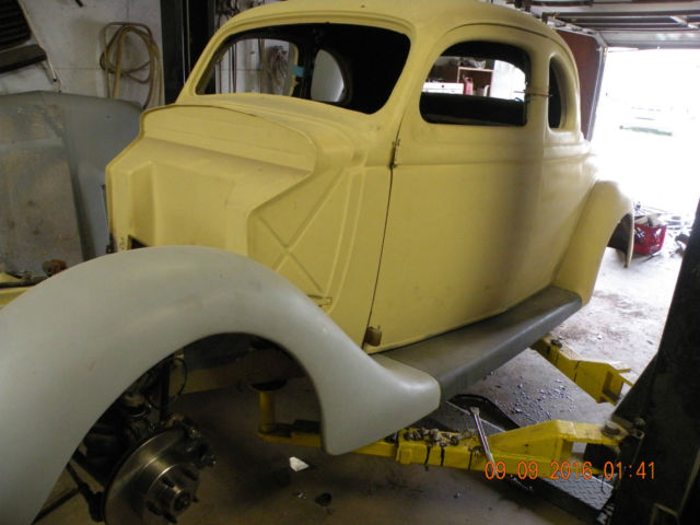 1935 Ford 5 window business coupe business coupe
