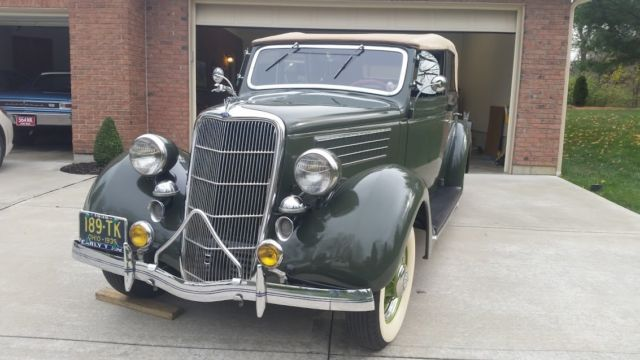 1935 Ford Other 4-Door Sedan Convertible