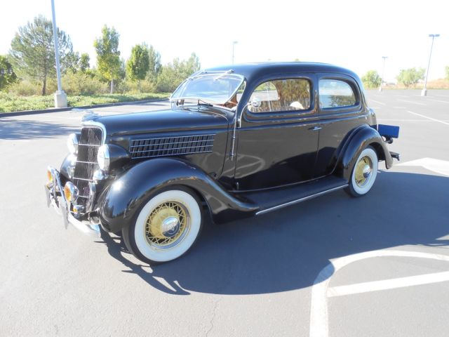 1935 Ford Model 48 Tudor Native California