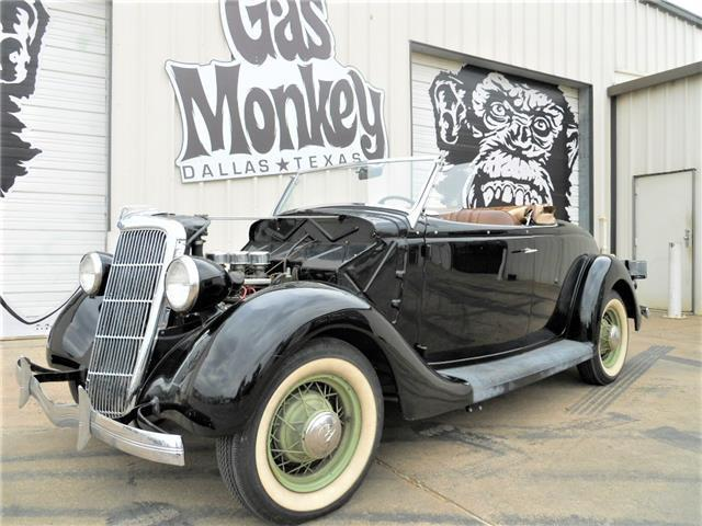 1935 Ford Roadster 50 S Style Mild Custom Offered By Gas Monkey