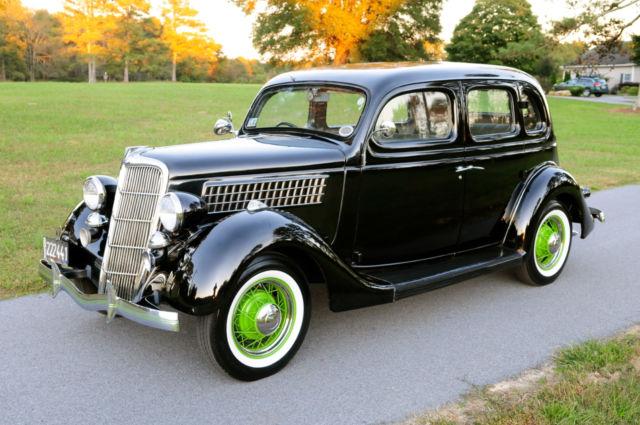1935 ford slantback british embassy car very rare hot for 1935 ford 4 door sedan