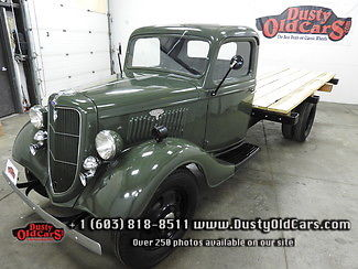 1935 Ford Other Runs Vgood Cond New Bed Use for Work or Show