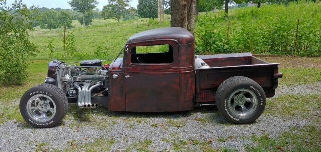 1935 Patina International Harvester Other Standard Cab Pickup with Black interior
