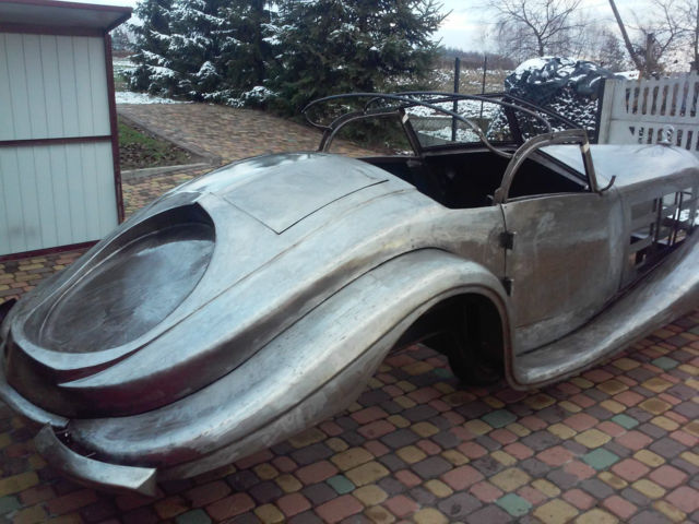 1935 Mercedes-Benz 500-Series 500K Chassis Replica