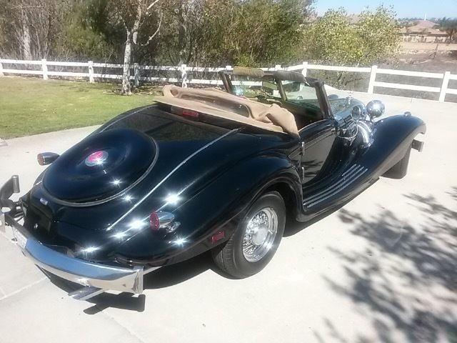 1935 mercedes benz 500k roadster tribute v8 pw pdl ps pb a for Mercedes benz suicide doors