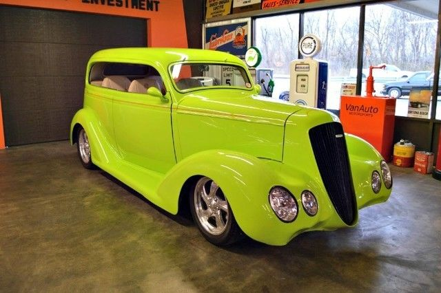 1935 Plymouth Other Street Rod 350 Engine Vintage Air Chopped