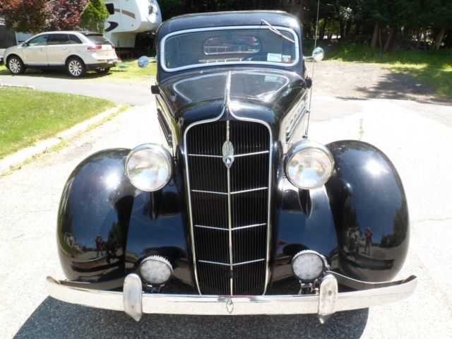 1935 Plymouth 4 door sedan