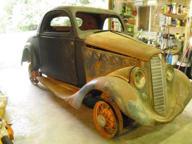 1935 Willys Rumble Seat Coupe Holden Body