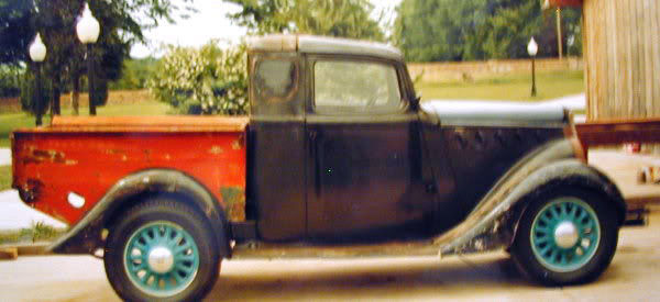 1935 Willys 77 pickup
