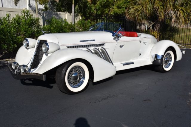 1936 Cord Boattail Speedster Only 600 Miles!