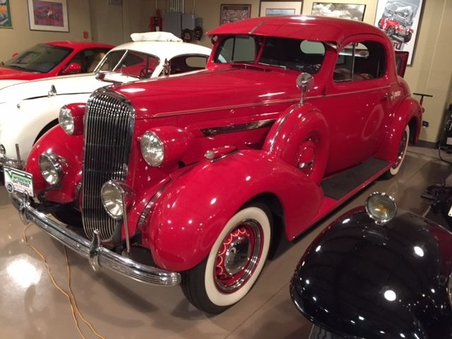 1936 Buick Series40, dual side mount