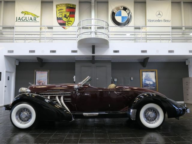 1936 AUBURN BOATTAIL SPEEDSTER SUPER CHARGED