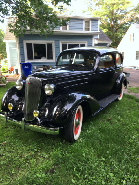 1936 Black Chevrolet Other with Tan interior