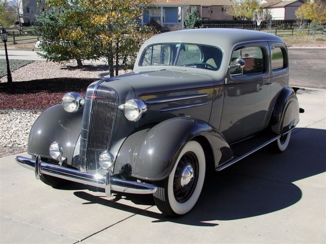 1936 Chevrolet CHEVROLET COUPE STAINLESS