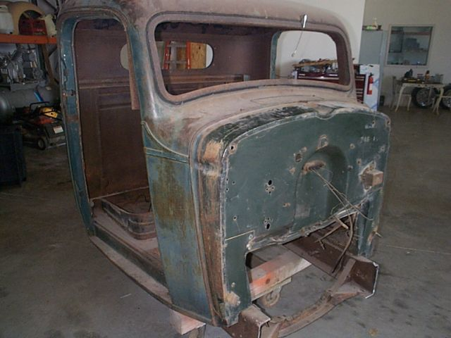 1936 Chevy low cab truck Hotrod project for sale: photos