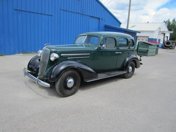 1936 chevy master 4 door sedan all original for sale for 1936 chevy master deluxe 4 door for sale