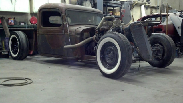 1936 chevy ratrod truck 4bt cummins dodge diesel turbo for. Black Bedroom Furniture Sets. Home Design Ideas