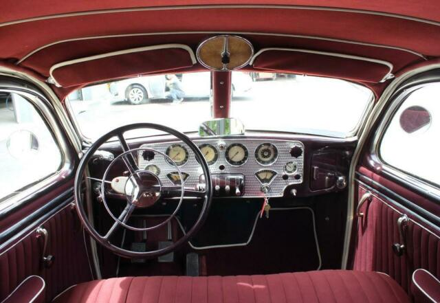 "1936 Tan Cord 810 ""Electric Hand"", VIDEO with Burgundy interior"