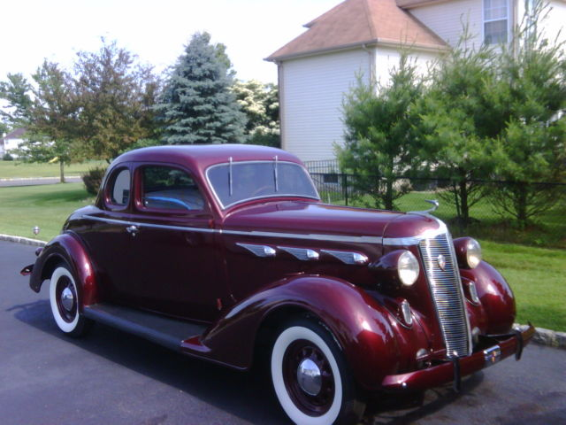 How To Measure Wheel Base >> 1936 deSoto S-1 Airstream Coupe for sale: photos, technical specifications, description