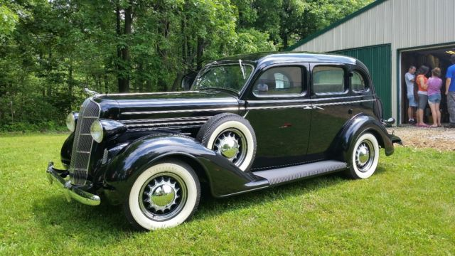 1936 dodge brothers d2 touring sedan restored double for 1936 dodge 4 door sedan