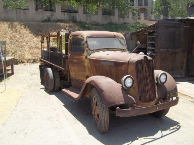1936 dodge lf36 1 1 2 ton truck 136 wheelbase for sale. Black Bedroom Furniture Sets. Home Design Ideas