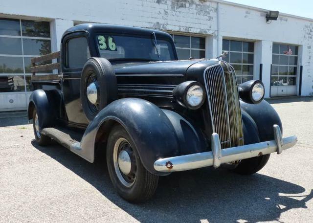 1936 dodge pickup truck very solid rat rod restore street. Black Bedroom Furniture Sets. Home Design Ideas