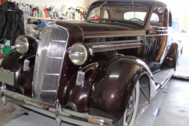 1936 Dodge Series D2 Business Coupe
